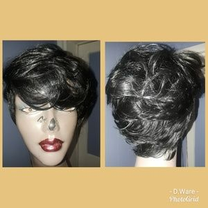 Synthetic Short cut Full-wig